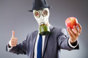 How to clean toxic food